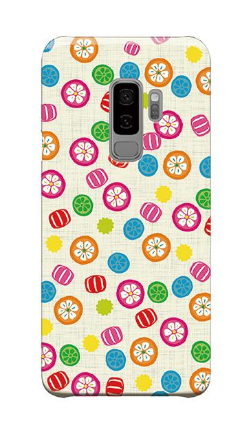 Galaxy S9+のケース、手まり飴【スマホケース】