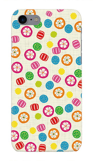 iPhone7のケース、手まり飴【スマホケース】