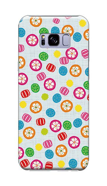 Galaxy S8+のケース、手まり飴【スマホケース】