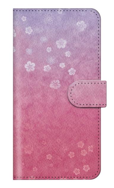 HUAWEI P20 liteの専用手帳型ケース、和桜グラデーション【スマホケース】