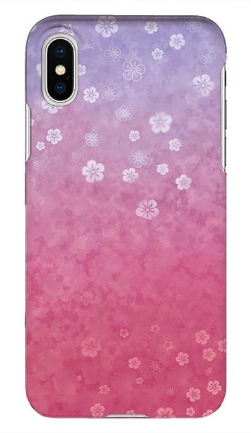 70c775b5b0 柔らかな和紙のような優しいデザインです。 小さな桜模様とグラデーションカラーが美しい。