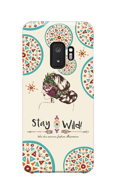 Galaxy S9のハードケース、staywild【スマホケース】