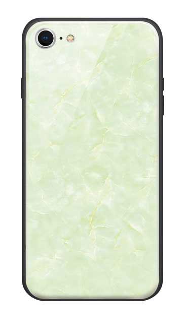 iPhone8のガラスケース、新エレガント大理石【スマホケース】