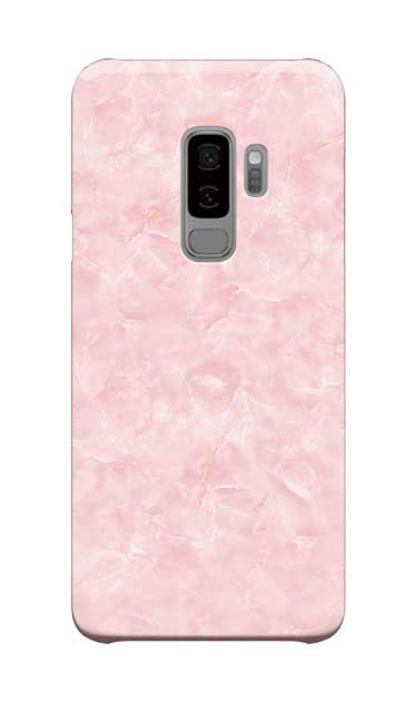 Galaxy S9+のケース、新エレガント大理石【スマホケース】