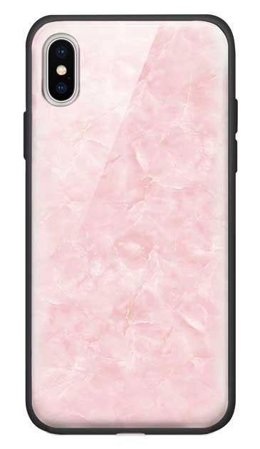iPhoneXのガラスケース、新エレガント大理石【スマホケース】