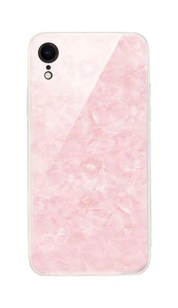 iPhoneXRのケース、新エレガント大理石【スマホケース】