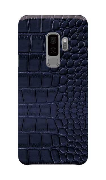 Galaxy S9+のケース、クロコダイル【スマホケース】