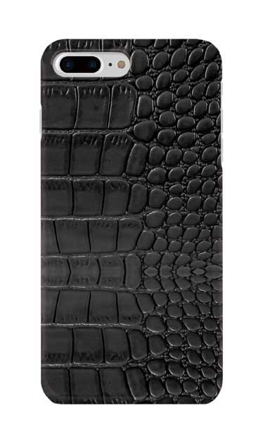 iPhone8 Plusのケース、クロコダイル【スマホケース】