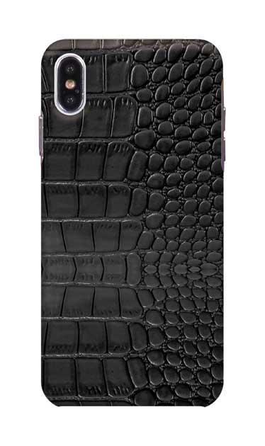 iPhoneXS Maxのケース、クロコダイル【スマホケース】
