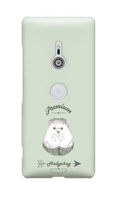 Xperia XZ3のケース、プレミアムハリネズミ【スマホケース】