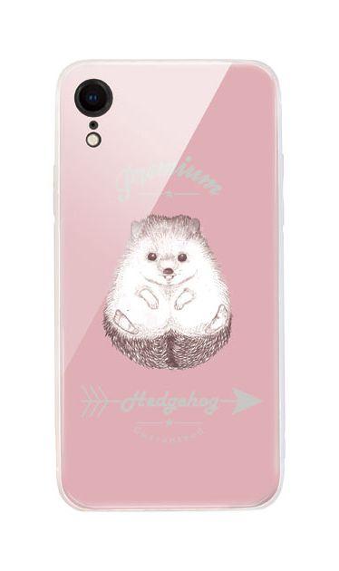 iPhoneXRのケース、プレミアムハリネズミ【スマホケース】