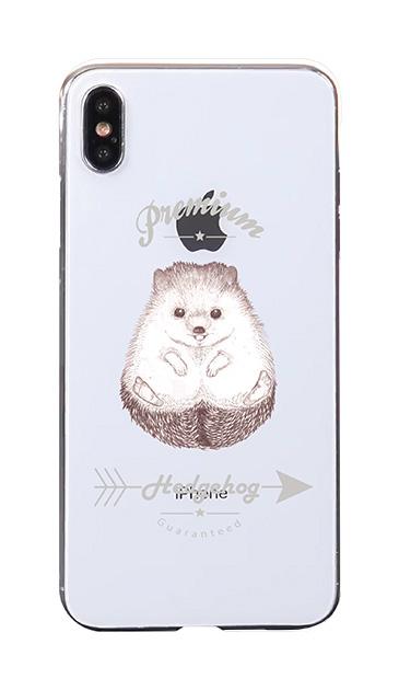 iPhoneXS Maxのケース、プレミアムハリネズミ【スマホケース】