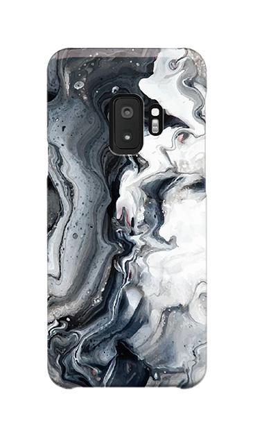 Galaxy S9のケース、BWマーブル【スマホケース】