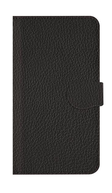 iPhone7のケース、ブラックレザー【スマホケース】