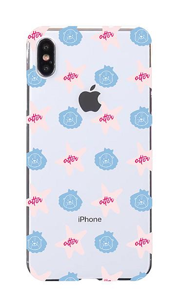 iPhoneXS Maxのケース、Cute otter【スマホケース】