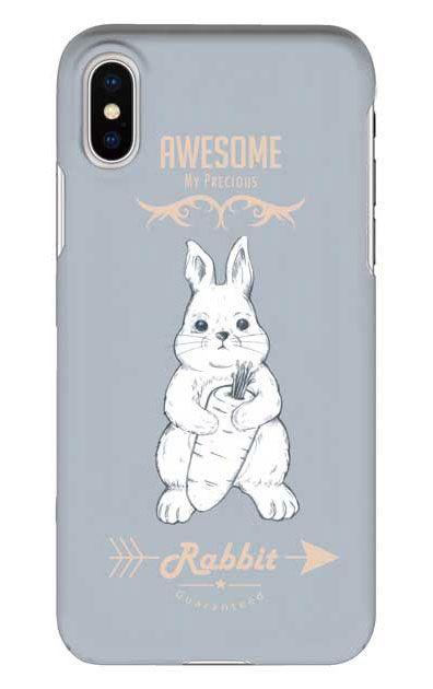 iPhoneXのケース、Awesome Rabbit【スマホケース】