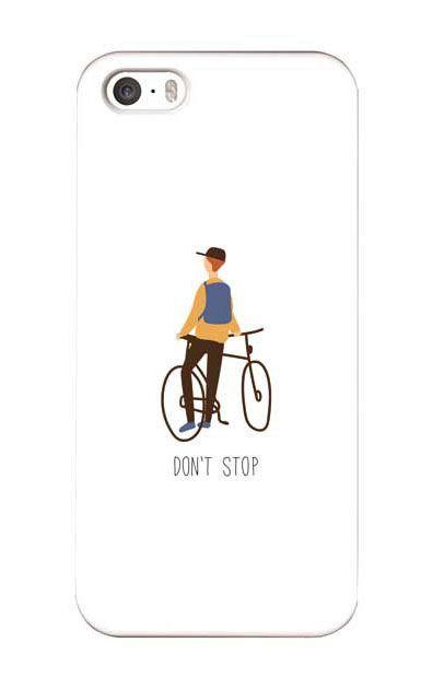 iPhoneSEのケース、Don't stop【スマホケース】