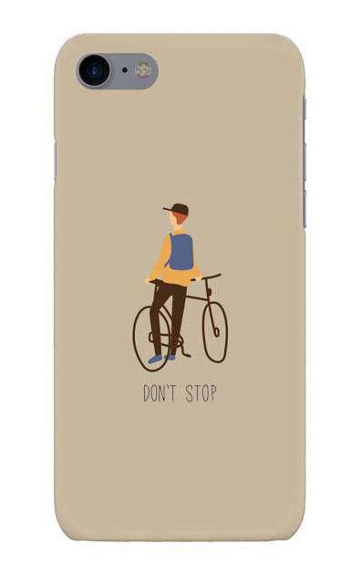 iPhone7のケース、Don't stop【スマホケース】