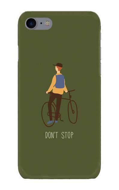 iPhone8のケース、Don't stop【スマホケース】