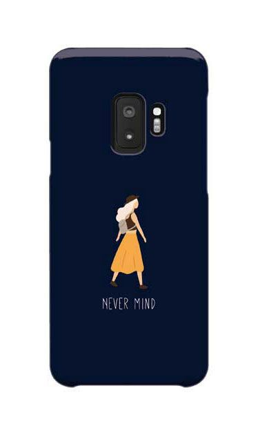 Galaxy S9のケース、Never Mind【スマホケース】