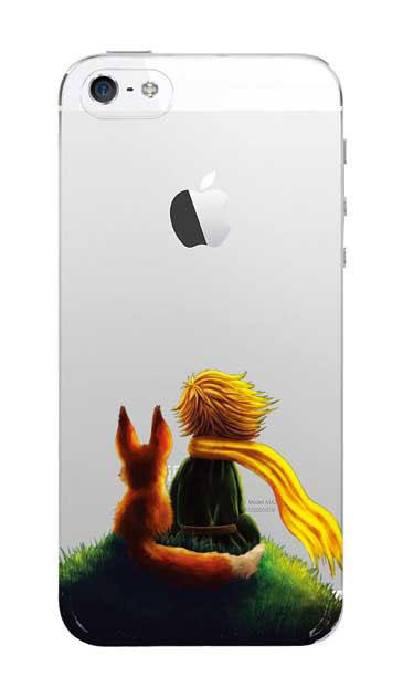 iPhoneSEのクリア(透明)ケース、スターリーナイト【スマホケース】