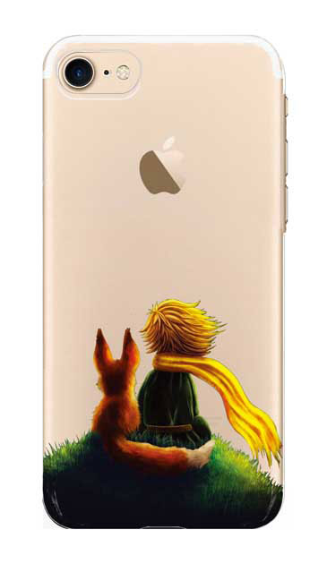 iPhone8のクリア(透明)ケース、スターリーナイト【スマホケース】
