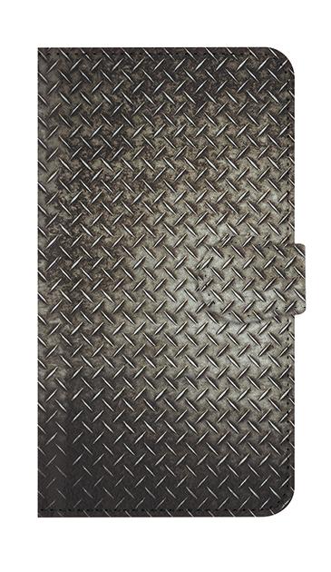 AQUOS Rのケース、Iron Plate (Black Metal)【スマホケース】