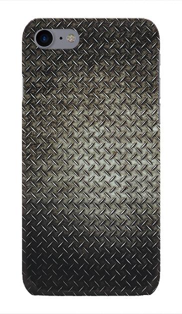 iPhone7のハードケース、Iron Plate (Black Metal)【スマホケース】