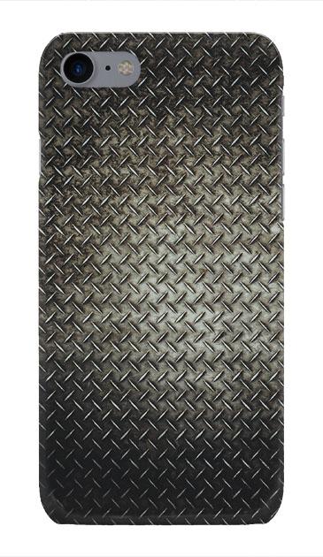 iPhone8のハードケース、Iron Plate (Black Metal)【スマホケース】