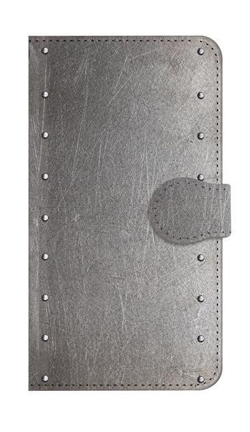 HUAWEI P20 liteの手帳型ケース、シルバースタッズ【スマホケース】