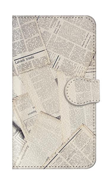 AQUOS Rのケース、News Paper【スマホケース】