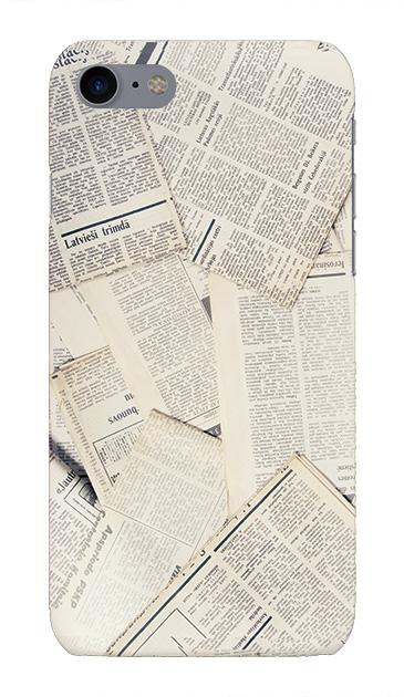 iPhone7のハードケース、News Paper【スマホケース】