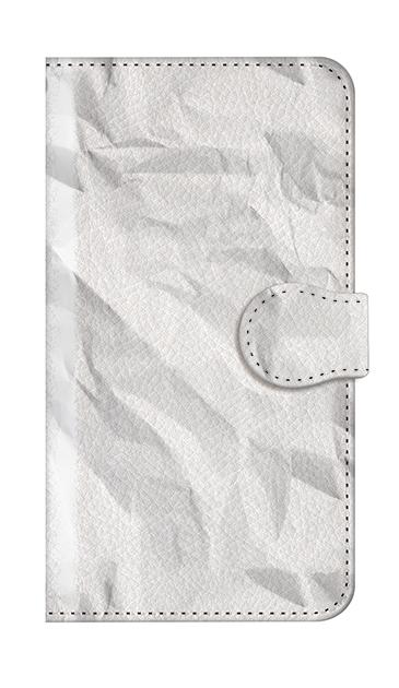 AQUOS SH-RM02のケース、しわくちゃの紙【スマホケース】