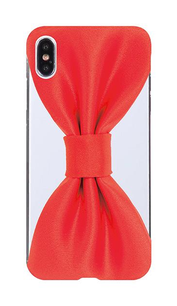 iPhoneXS Maxのケース、おしゃれなりぼん【スマホケース】