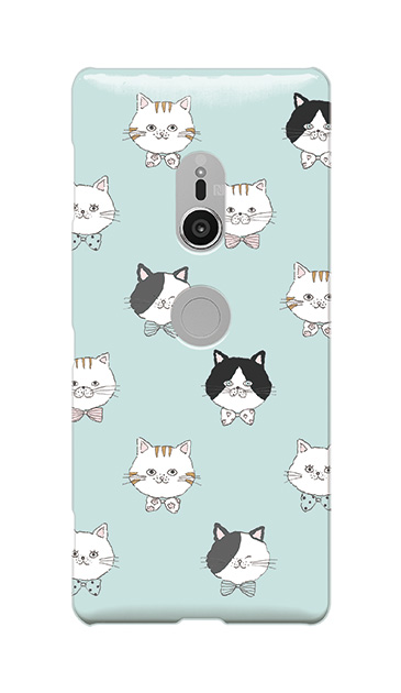 Xperia XZ2のケース、猫たち【スマホケース】