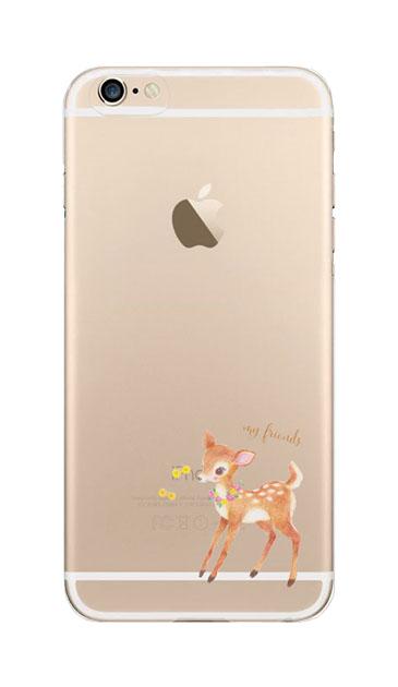 iPhone6sのクリア(透明)ケース、リトルディアー【スマホケース】