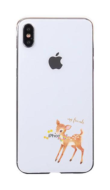 iPhoneXS Maxのケース、リトルディアー【スマホケース】