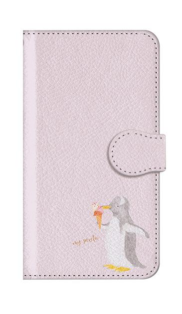 Galaxy Note9のケース、ペンギンとアイスクリーム【スマホケース】