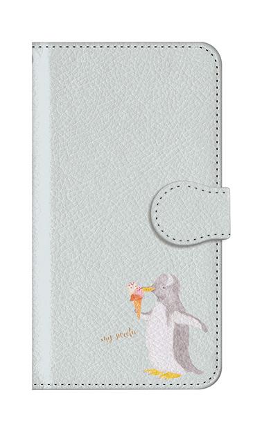 iPhone7のケース、ペンギンとアイスクリーム【スマホケース】