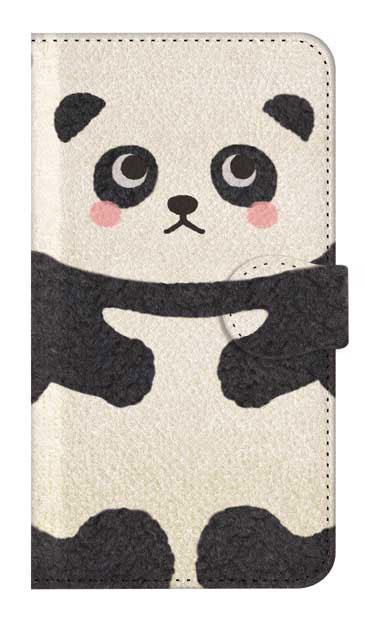 Galaxy Feel2のケース、はこづめパンダ【スマホケース】