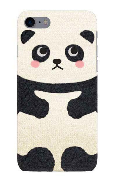 iPhone7のケース、はこづめパンダ【スマホケース】