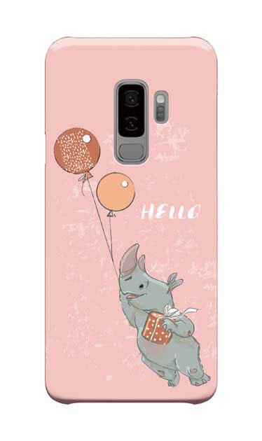 Galaxy S9+のケース、ハローサイさん【スマホケース】