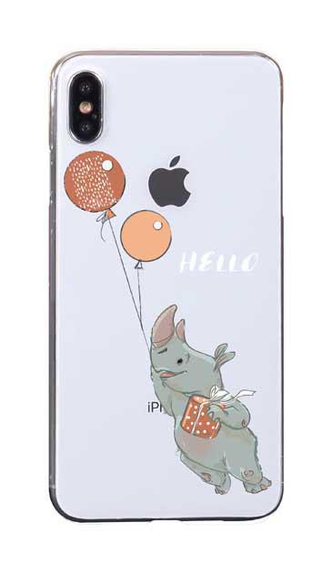 iPhoneXS Maxのケース、ハローサイさん【スマホケース】
