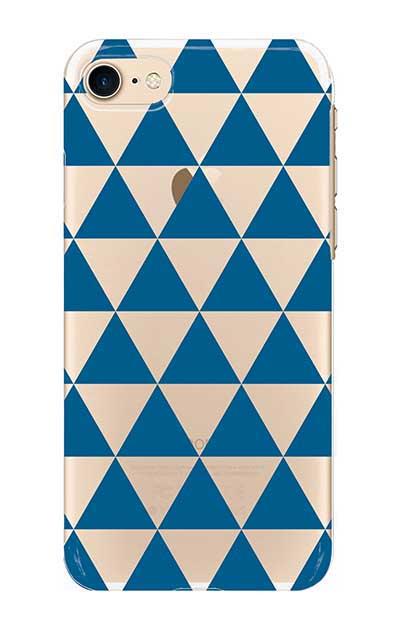 iPhone7のクリア(透明)ケース、鱗【スマホケース】