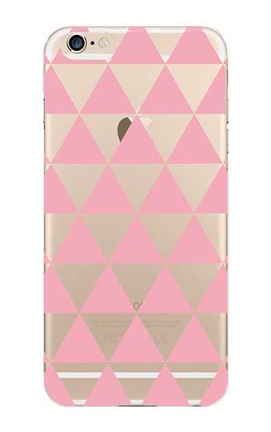 iPhone6sのクリア(透明)ケース、鱗【スマホケース】