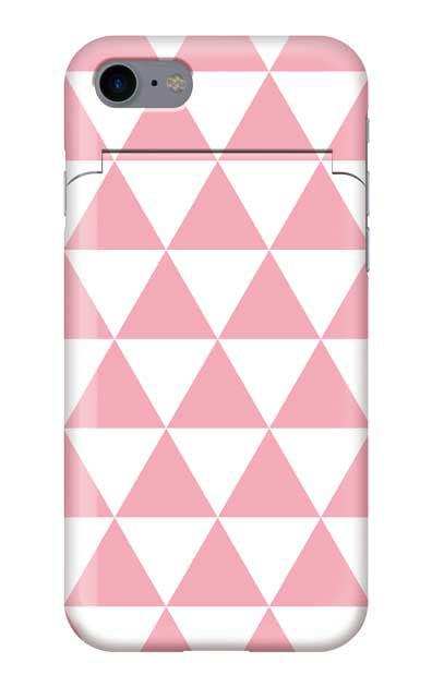 iPhone7のミラー付きケース、鱗【スマホケース】