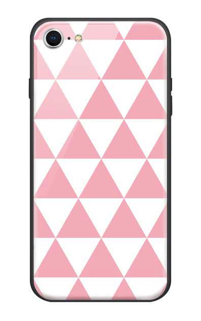 iPhone7のガラスケース、鱗【スマホケース】