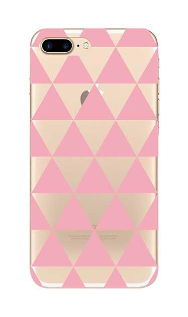 iPhone7 Plusのクリア(透明)ケース、鱗【スマホケース】