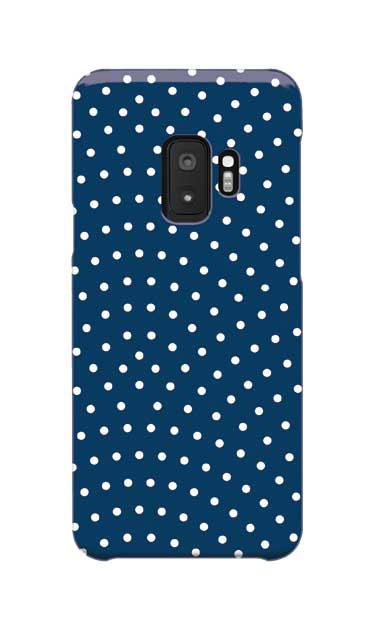Galaxy S9のケース、鮫小紋【スマホケース】