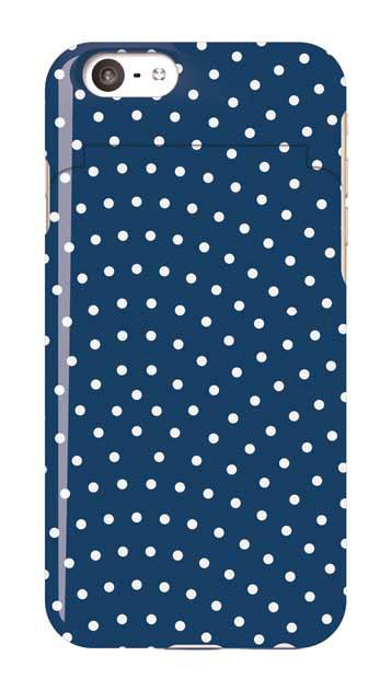 iPhone6sのミラー付きケース、鮫小紋【スマホケース】